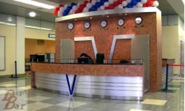 Ресепшен аэропорт Внуково