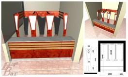 Проект гардеробной стойки