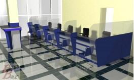 Проект стойки приема клиентов для банка